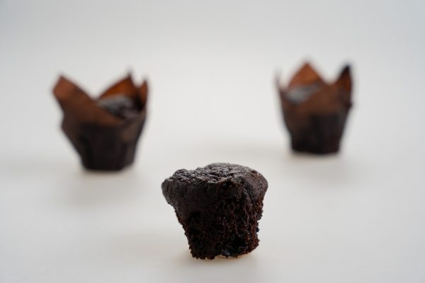 mini chocolate zucchini muffins