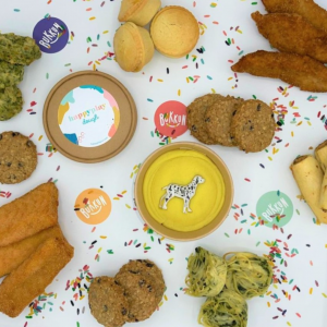 kids food in the gift box